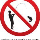 Забрана за риболов 2021